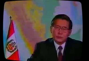 Fujimori sorprendió con el mensaje a la nación que emitió el 5 de abril de 1992, cuando anunció la disolución del Congreso de Perú. Foto: El Comercio