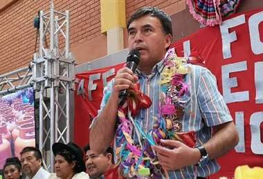 La autoridad participa de actos en Sucre I Foto: José Luis Quintana.