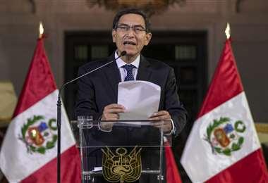 Vizcarra promulgó un decreto para realizar elecciones al Congreso en 2020. Foto AFP