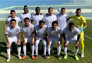 El equipo de Real Santa Cruz que representa a la capital oriental. Foto: Internet