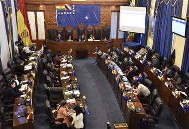 El MAS lleva casi una década contando con los dos tercios de voto en el Senado