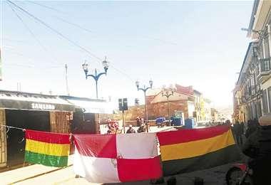 Los potosinos viven su tercer jornada de paro cívico; ayer los bloqueos paralizaron la ciudad. Foto: APG NOTICIAS