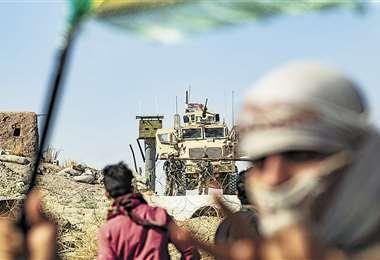 Las fuerzas militares turcas conquistaron siete pueblos en Siria