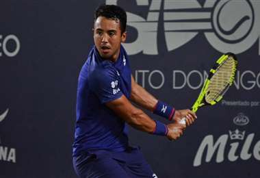 Dellien jugará este viernes ante Giannessi. Foto: Santo Domingo Open