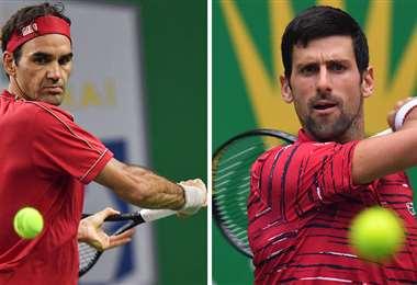 Federer y Djokovic quedaron fuera del torneo asiático. Foto: AFP