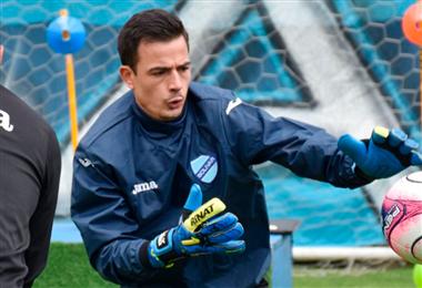 Viscarra jugó por última vez en enero ante Defensor Sporting