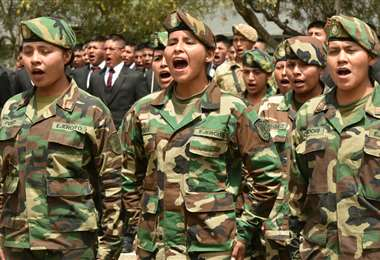 Fuerzas Armadas de Bolivia | Foto: Archivo ABI