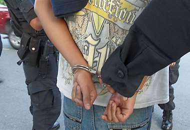 El menor fue aprehendido por la Policía (imagen referencial). Fotos: redes sociales