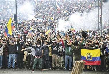Policías y militares dispararon a mansalva contra los manifestantes