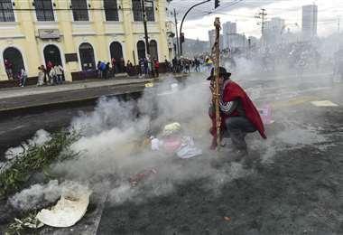 Protestas en Ecuador | Foto: AFP