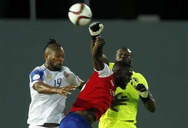 Haití viene de igualar ante Costa Rica (1-1) el 10 de octubre en las Bahamas. Foto. AFP