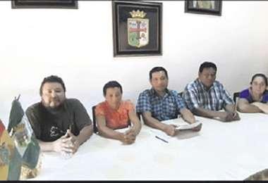 Los concejales denunciaron. Foto: DESTHER ÁGREDA