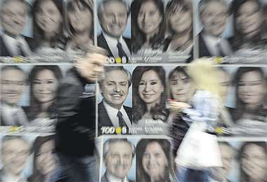 AIberto y Cristina, del peronista Frente de Todos, encabeza encuestas