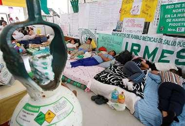 Huelga de hambre en Santa Cruz