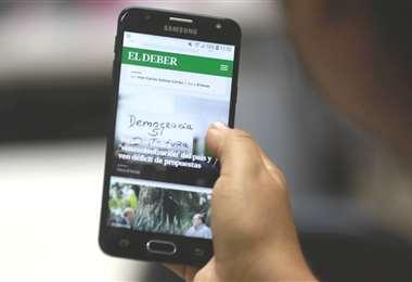 EL DEBER se acerca más a sus audiencias con nueva web