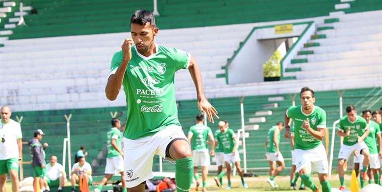 Gilbert Álvarez marcó el único gol de Bolivia ante Venezuela (4-1) en Caracas. Foto. Prensa FBF