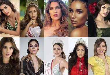 Candidatas a Reina Hispanoamericana 2019