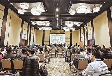 Evento. El Bolivia Startup Summit se celebró en días pasados en Santa Cruz