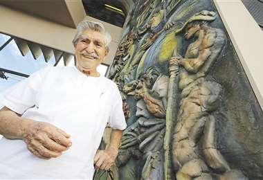 Vaca es reconocido como uno de los más representativos y prolíficos muralistas bolivianos del siglo XX