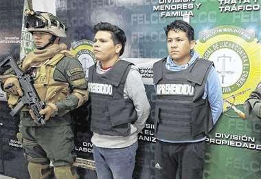 Detenidos con armas que pretendían vender para su alimentación