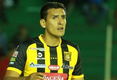 Gabriel Valverde, defensor de The Strongest