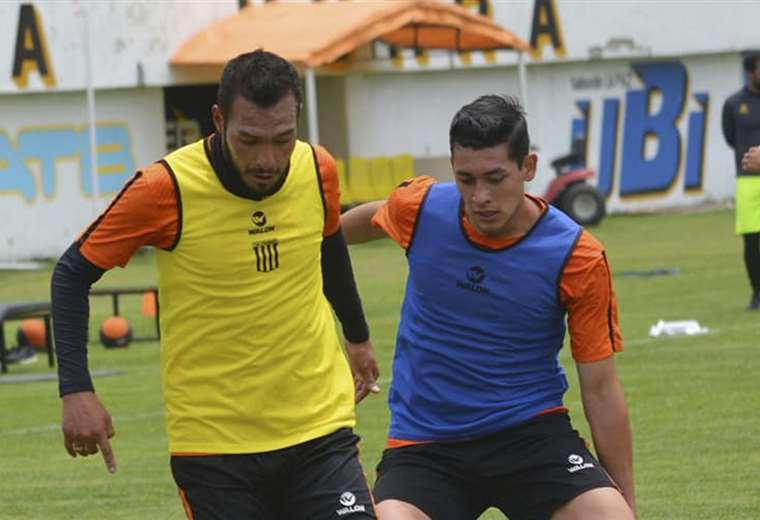 Veizaga y Demiquel desde el vamos en el Tigre. (Foto: The Strongest)