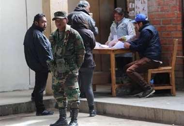 Soldados estarán encargado de la seguridad en recintos de votación I Foto: internet.