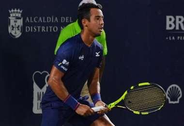 Dellien tiene la mente puesta en seguir sumando puntos ATP. Foto: Prensa Dellien