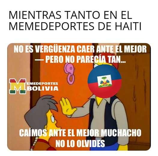 Memes que dejó Bolivia - Haití