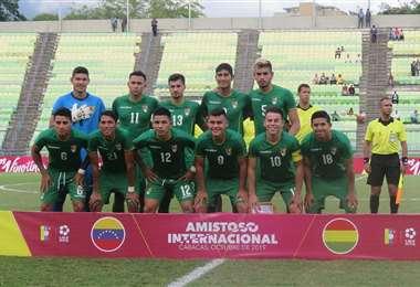La Verde logró dos victorias, un empate y una derrota en Caracas (Foto: Prensa FBF)