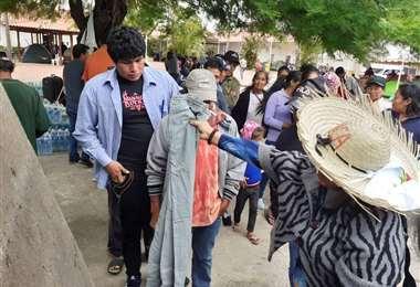 La Marcha Indígena salió desde Cotoca rumbo a la capital cruceña