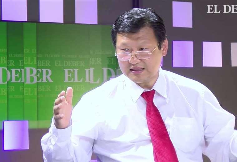 Chi Hyun Chung, candidato del Partido Demócrata Cristiano