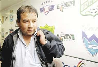 Marco Ortega sucedió en la presidencia de la Federación Boliviana de Fútbol al ya desaparecido Carlos Chávez en julio de 2015. Estuvo un año en el cargo. Lo reemplazó Rolando López