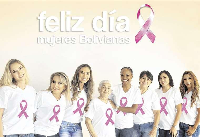 Guerreras. Ellas acudieron a la cita con Udime, el centro médico pionero en campañas pro detección temprana de cáncer de mama