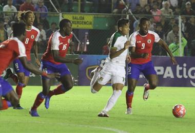 El partido se juega en el estadio Tahuichi Aguilera. Foto. Rolando Villegas