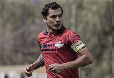 Omar Morales puede reaparecer en el aviador. Foto: Wilstermann