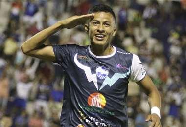Rojas (f) lleva un gol en el Clausura 2019. Foto: Archivo