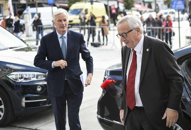 La Unión  Europea llegan a su sede en Bruselas donde se realizará una cumbre. Foto AFP