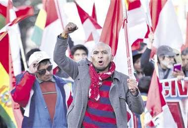 Los potosinos participaron de un cabildo el martes en defensa del litio