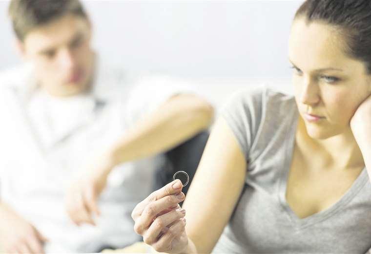 La soledad en el amor Muchos divorcios se deben a que las personas se sienten solas estando acompañadas evita