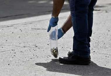 Este jueves, Culiacán estuvo sitiada por las balas durante horas tras el arresto y posterior liberación de Ovidio Guzmán, uno de los hijos de El Chapo Guzmán   AFP