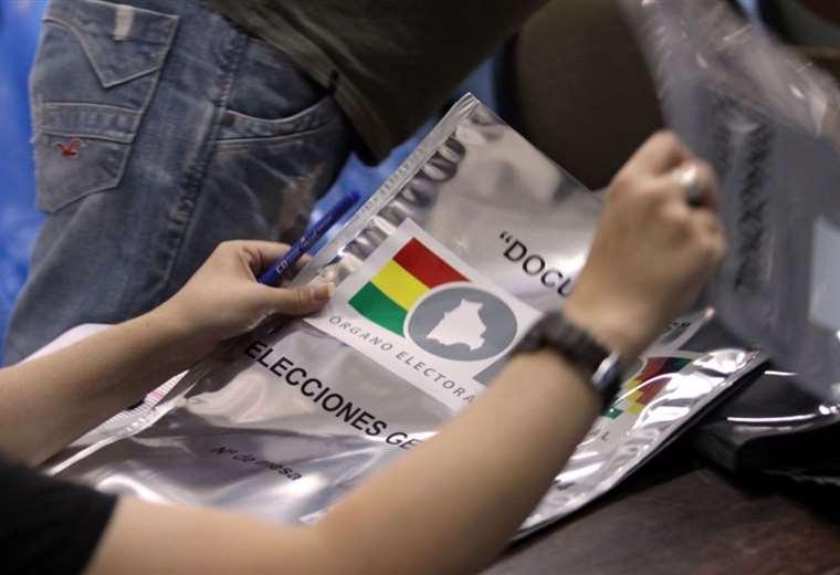 La población acudirá a las urnas el domingo I Foto: archivo.