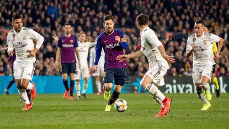 Barcelona ante el Real Madrid