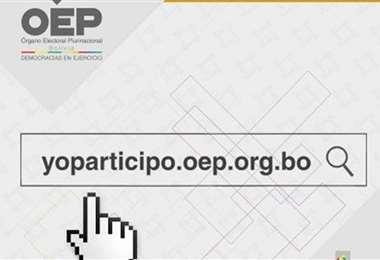 Imagen de ingreso a Yo Partipo