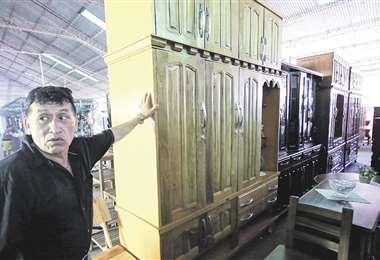 La industria manufacturera ha tenido una baja considerable en sus ingresos, según estudios. Foto: JORGE IBAÑEZ