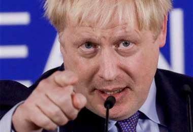 Boris Johnson y la difícil tarea de convencer a los legisladores británicos. Foto: AFP