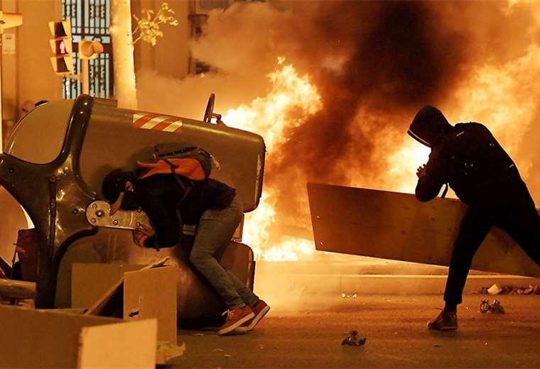 Para hoy se espera una gran movilización pro independencia en Barcelona. Foto: AFP