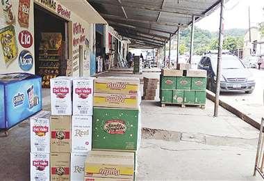 Por la frontera con Argentina ingresa mercadería ilegal