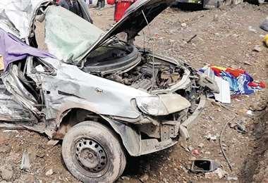 Para la Policía, el accidente se debió al exceso de velocidad