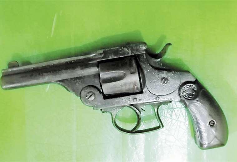 El arma usada contra la víctima
